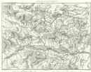GERMANY: Environs D'Eckmh.l Langquiad Schierling, 1859 antique map